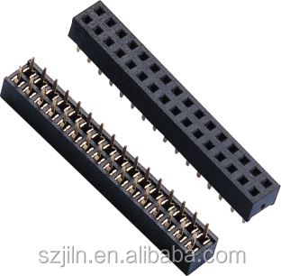 2.00mm dual row female rca pcb connector