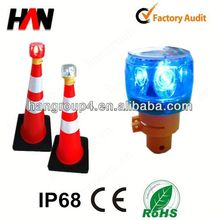 High power solar signal led warning light for window of car (flashing or revolving)