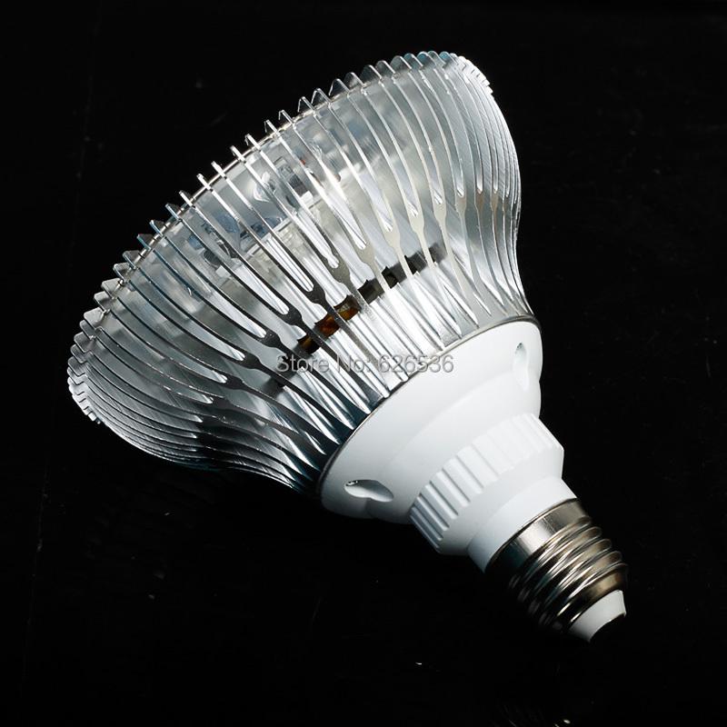 2015 החדש 36W E27 85-265V חשמל גבוהה LED לגדול אור מנורות פריחה הצמח מערכת הידרופוניקה