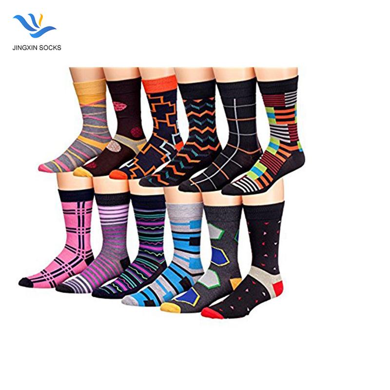 Men Skate Socks Hip Hop Harajuku Socks Unisex Colorful Striped Sock JX