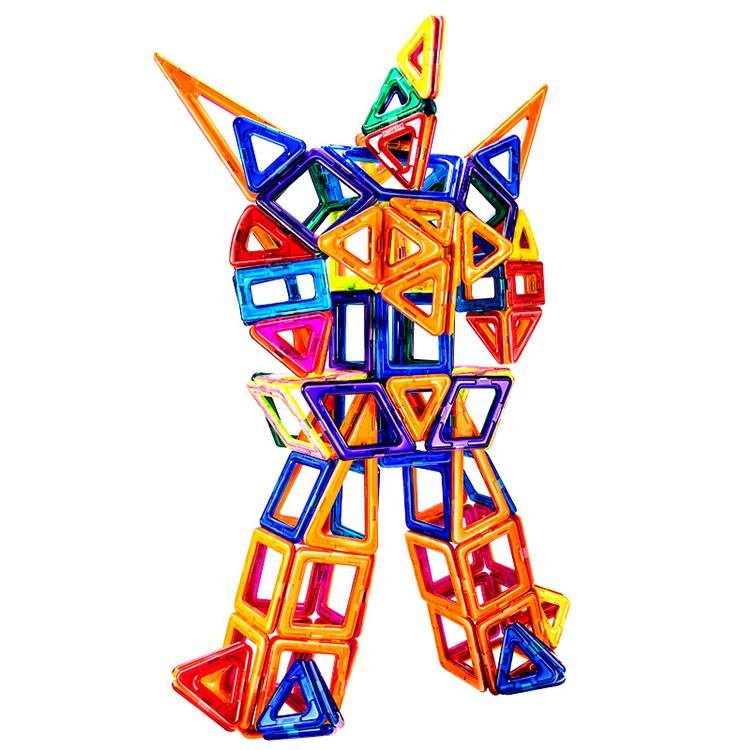 Personalizzabile 3D Giocattoli Educativi Produce Abs Magnetico Intelligenza Blocchi di Costruzione