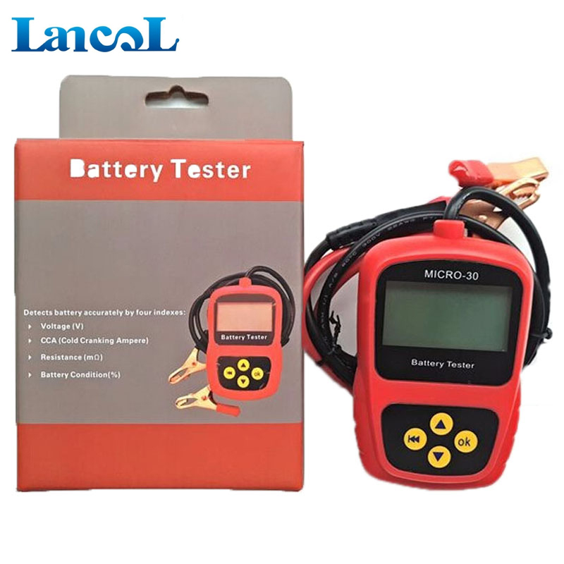 good reliable hot sale Battery tester print Micro-30 cca analyzer