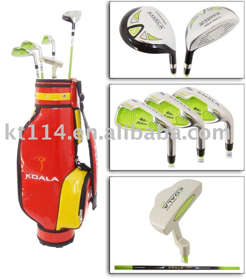 2016 hot sale! New Arrival brand kid golf club set