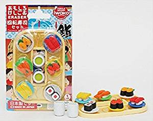 Iwako Conveyor Belt Sushi & Green Tea Set from Japan