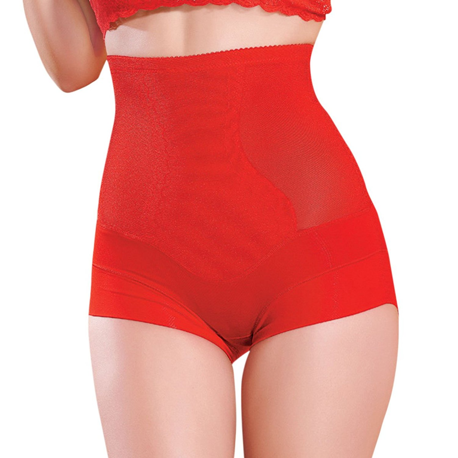 31f6227b3e331 Get Quotations · Shymay Women s Control Panties High Waisted Control Top Tummy  Slimming Shapewear
