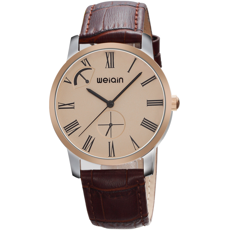 Weiqin High quality stainless steel wholesale Men's watches