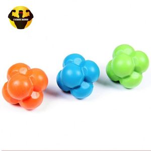 RAMBO Chinese Sports Factory Training Six Corner Colorful Speed Bounce Reaction Ball