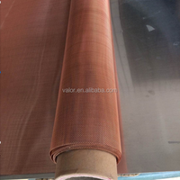 EMF Shielding Copper Wire Fabric Plain Woven Wire Mesh