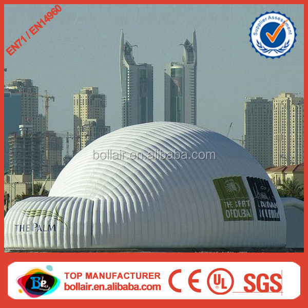 China factory custom cheap big inflatable tennis dome