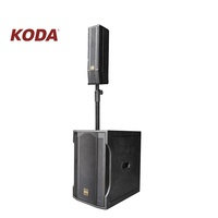 Hotsale sound system line array professional stage bass column speakers for wedding speech and activities