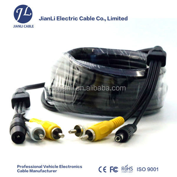 video and audio cable for monitoring system