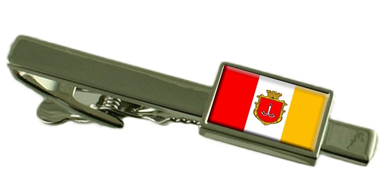 Select Gifts Odessa City Ukraine Flag Tie Clip