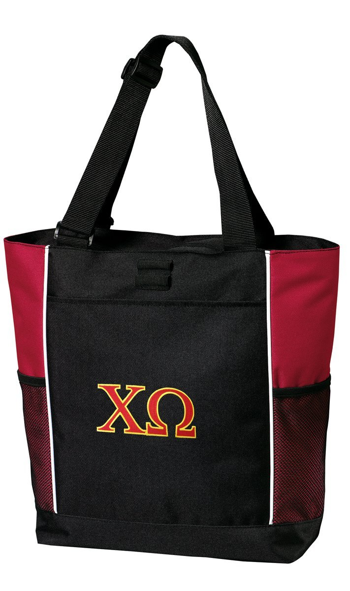 Chi Omega Tote Bags Red Chi O Totes Beach Travel