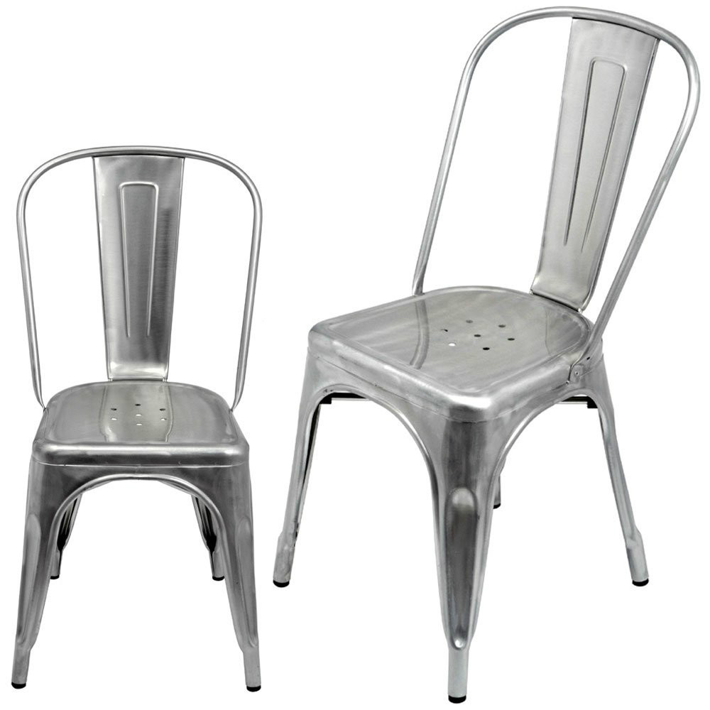 Galvanized Chair