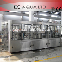 Full Automatic Complete PET Bottle Pure / Mineral Water Filling Production Machine / Line / Equipment