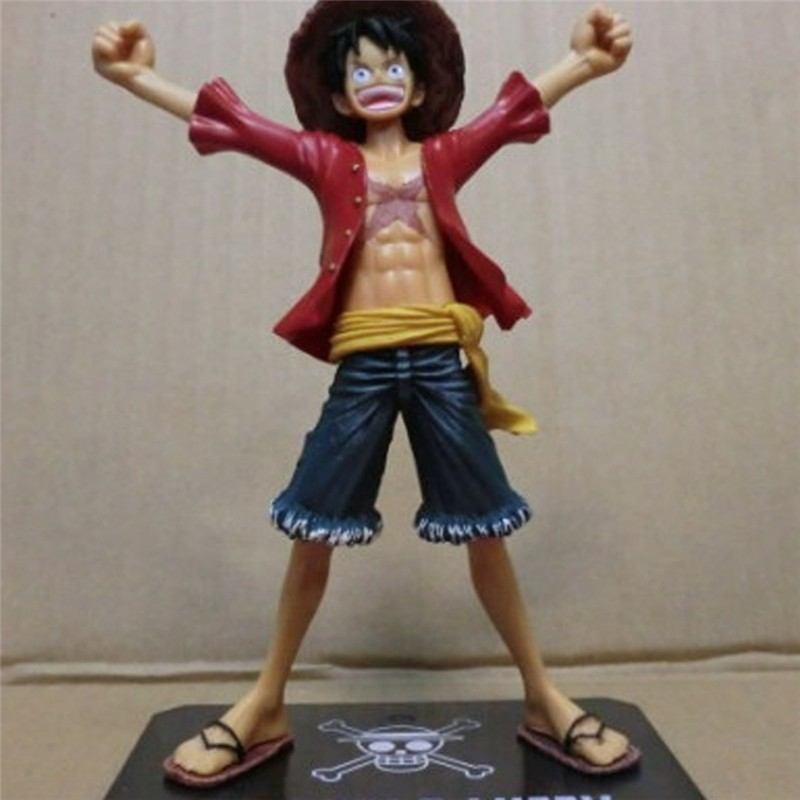 One Piece Luffy Red Cloth Figure King Of Art Koa The 20th Monkey .d.luffy Pvc Figure Toys Figurals Model Kids Dolls 25cm To Assure Years Of Trouble-Free Service Action & Toy Figures