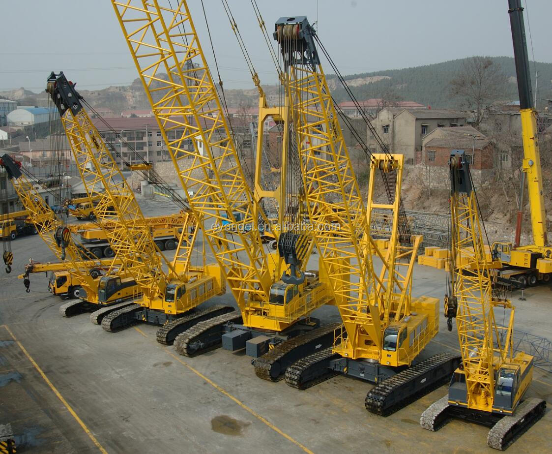 XCMG 55 ton Hydraulic Crawler Crane XGC55 Crane for sale