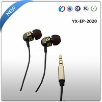 Portable Media Player Use and In-Ear Style Wired Earbuds Earphone