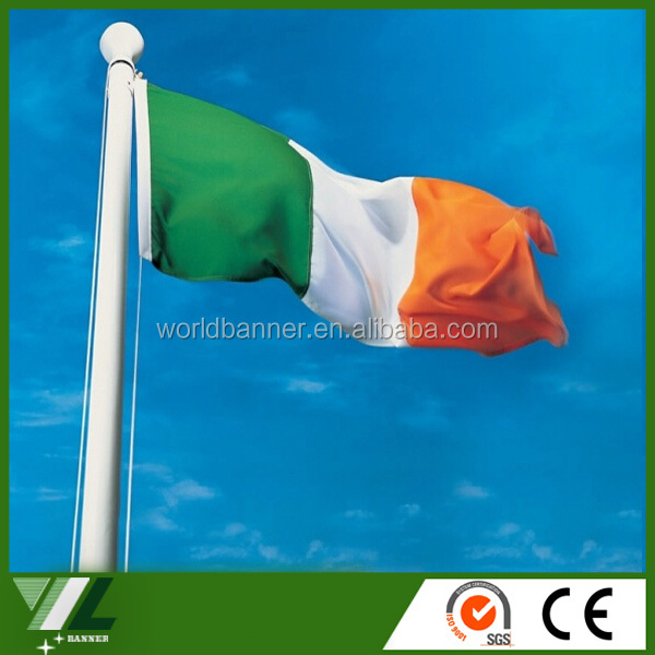 red white <strong>orange</strong> The Irish national country flag