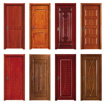 Mdf interior door flush hollow core door with popular in for Flush solid core wood interior doors