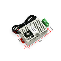 PH Value Temperature Transmitter Detection Sensor Module,RS485/4-20mA/0-10V/0-5V Output PH Temperature Transmitter PH Sensor