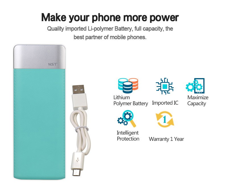 2018 promotion gift real capacity 6000Mah Power Bank,Power Bank Charger,Portable Power Bank