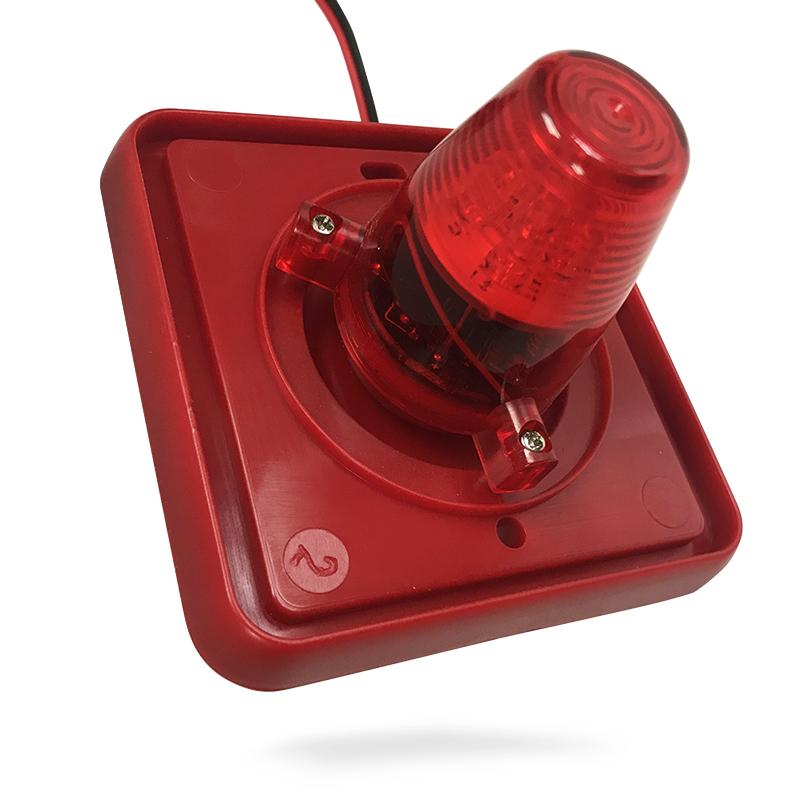 Orinsong 24V Alert Fire Alarm LED Strobe Light Fire Truck Siren