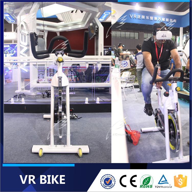 2016 High-tech Entertainment and Fitness Sporting Wireless 9D VR Virtual Reality Bike Simulator