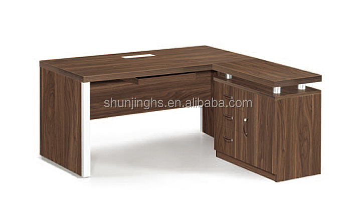 2015 Hot Photo Guangzhou of China Luxury Furniture Walnut furnitur Office Table
