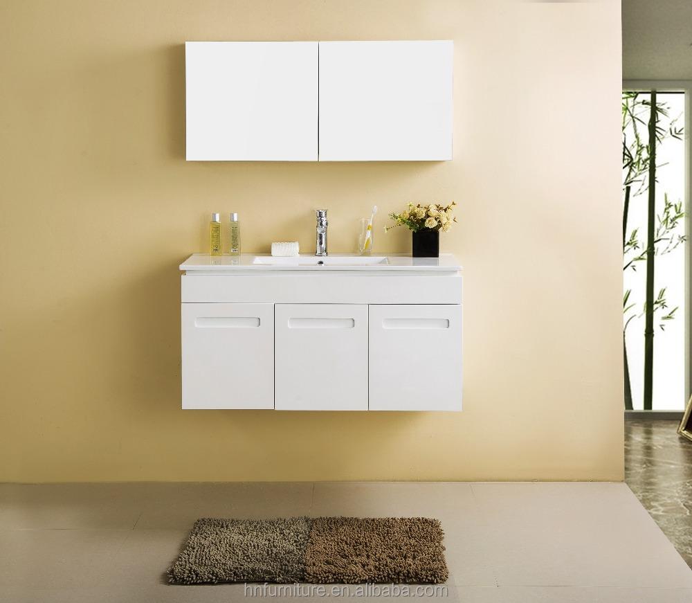 Contemporary 3 door cabinets MDF or plywood bathroom furniture design