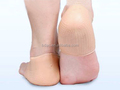 soft gel heel sock dry foot moisture heel guard heel care