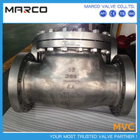 Professional supply industrial iron or steel material check valve with different body types