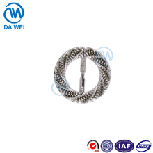 DW brand factory direct sale wholesale custom small round bulk belt buckles part
