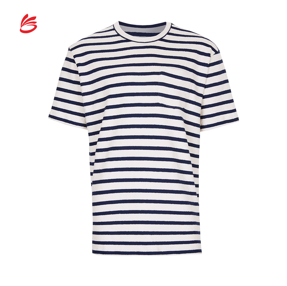 Korean Street Fashion Short Sleeve Cotton Men T Shirt In White And