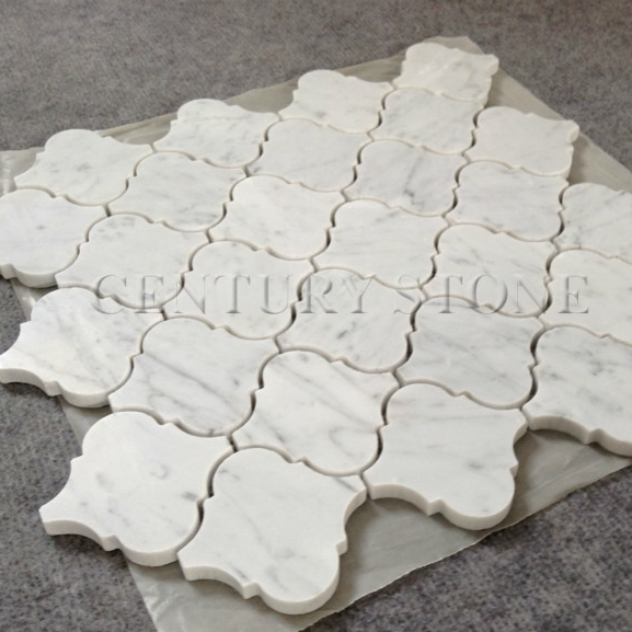 Carrara Marble Lantern Mosaic Backsplash Tiles Lowes View Century Product Details From Qingdao Import Export Co