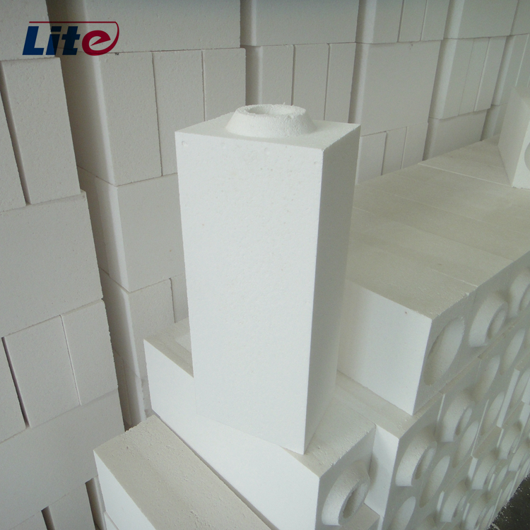 1700C 1.6g/cm3 Good Insulating Alumina Bubble Light Brick for Ceramic Industry