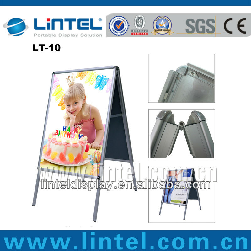 aluminum rounded corner picture frame
