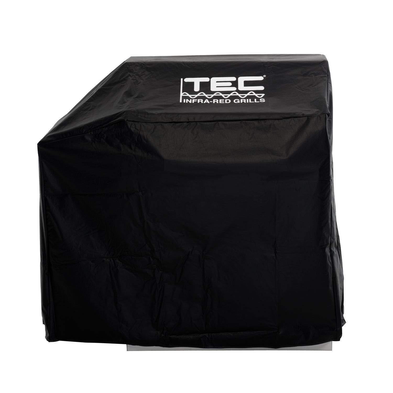 TEC Vinyl Grill Cover Freestanding Sterling III Left Side Shelf (ST43VC1)