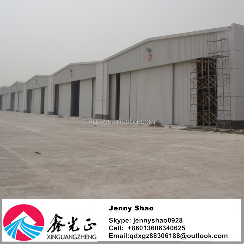 Industrial Workshop/prefabricated Warehouse/aircraft Hangar