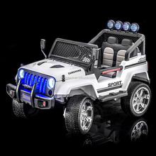 New jeep S2388 big baby electric car Mp3 bluetooth kids battery powered 2.4G remote control ride on cars
