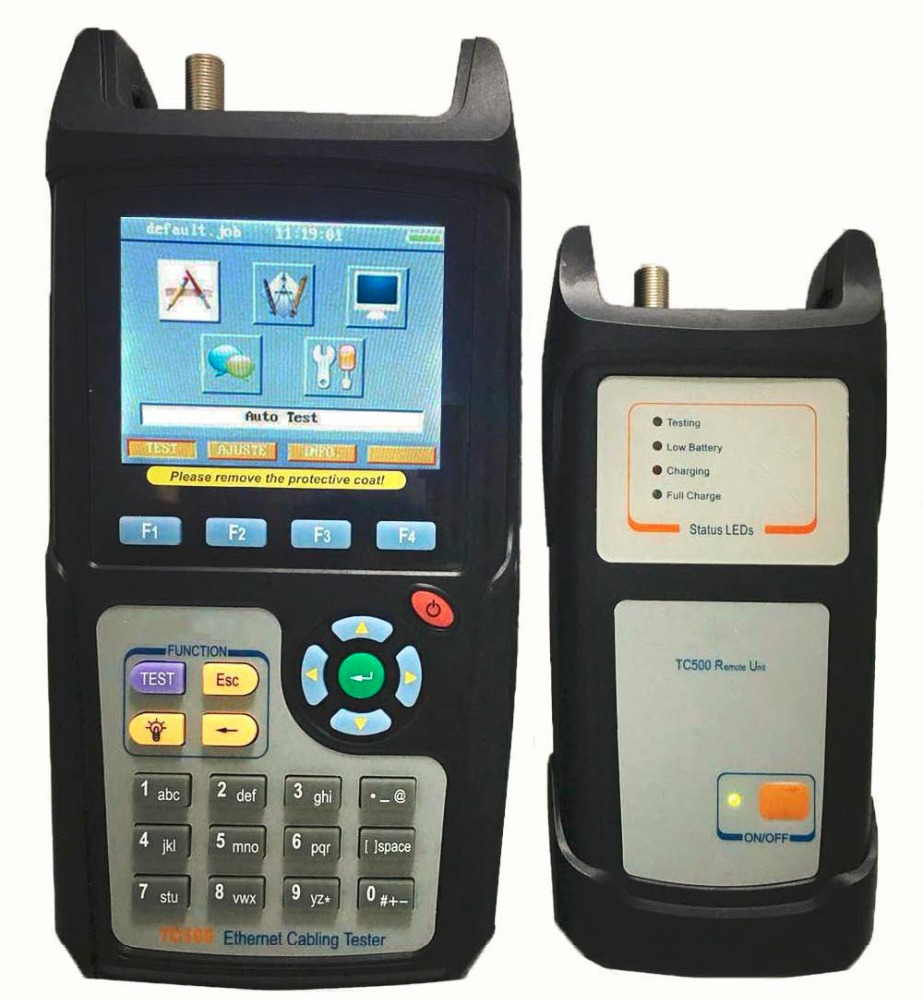 Ethernet cabling tester UTP Cat3/cat5e/cat6 test