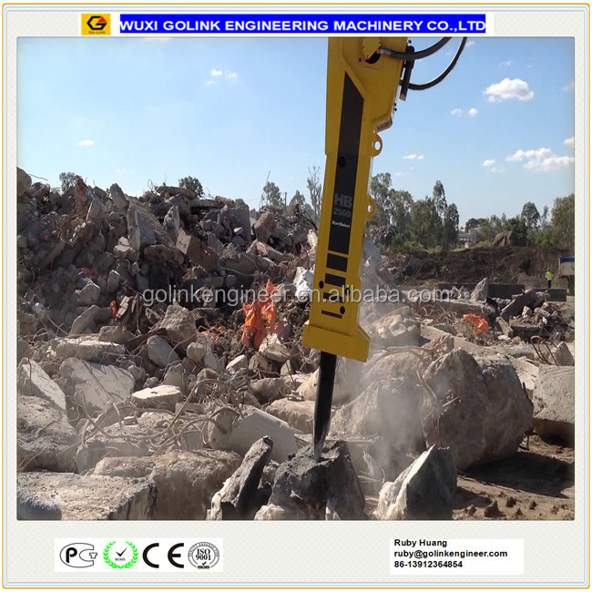 widely used top type Breakers and Demolition attachment