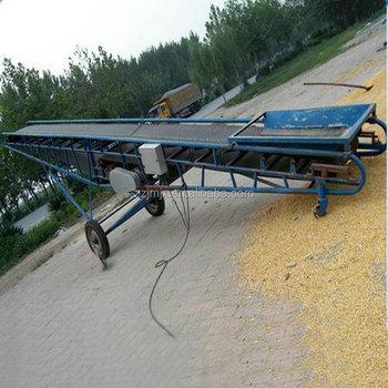 Grain Loading Hopper Portable Belt Conveyor Machine Price - Buy Portable  Belt Conveyor,Belt Conveyor Machine,Hopper Belt Conveyor Product on