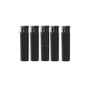 China lighter factory FL-703 dark plastic flame disposable lighter