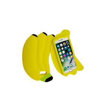 super popular eb41a f573a High Quality Soft Silicone Banana Shape Phone Case Mobile Phone Case For  Iphone 6/7/8 Protect The Phone - Buy Cell Phone Case,Mobile Phone ...