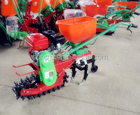 multi-function fertilizer and corn seed drill