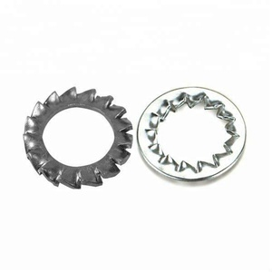 China Fastener Factory Serrated Internal External Tooth Lock Washer