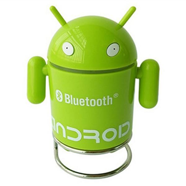 Горячая распродажа мода беспроводной робот Bluetooth Multipoint спикер микрофон громкой автомобильный комплект музыкальный плеер