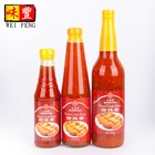 Chinese brand OEM packing in glass bottle or sachet natural hot thai red chilli paste bright sweet chili sauce