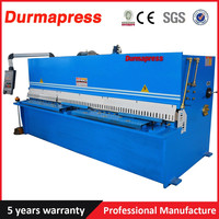 4x2500mm Bosch valve cnc pendulum shearing machine with high quality